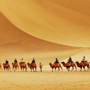 China destinations silk road featured